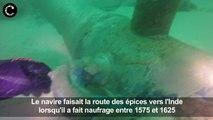 Un vaisseau de la route des Indes découvert au Portugal