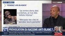 """Clip raciste: """"Il y a là des propos racistes anti-blancs c'est incontestable, mais la discrimination anti-blanc n'existe pas"""" estime Louis-Georges Tin, président d'honneur du CRAN"""