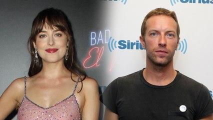 """Dakota Johnson Is """"Very Happy"""" Dating Chris Martin"""
