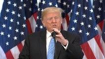 Trump doubled down his defense of Supreme Court nominee Brett Kavanaugh