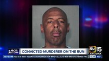 Convicted murderer on the run after ditching ankle monitor in Mesa