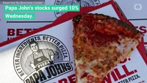 Papa John's Spikes After Report Says Papa John In Talks To Buy Back Pizza Chain