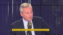 """""""Je suis prêt à ouvrir une réflexion sur le travail du dimanche l'année prochaine"""" affirme Bruno Le Maire"""