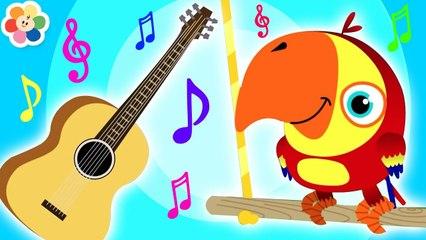 Instrumentos Musicales con Vocabu-Larry-o y Huevos Sorpresa | BabyFirst Español