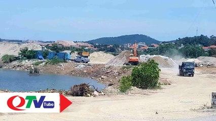 Còn nhiều bến, bãi hoạt động trái phép tại Quảng Yên và Hạ Long - QTV