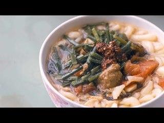 【magic food】一碗热腾腾的面鱼,冬天不再寒冷!