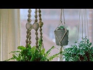 《造物集》S06E43 达人教你自制麻绳吊篮花盆