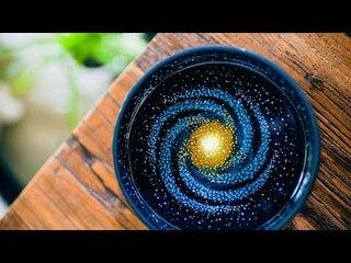 《造物集》SO6E45 滴胶作画,一个碗里的星空