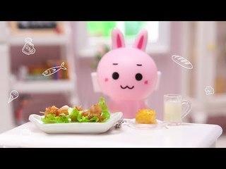 【magic food】妮妮兔的金针菇培根卷酱香浓郁一口一个!