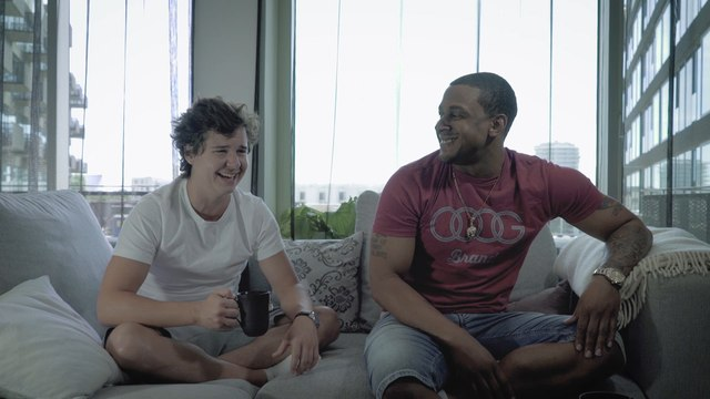 "Brandon Beal - Brandon Beal And Lukas Graham ""The History Behind Golden"""