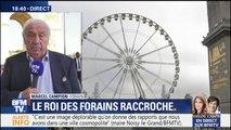 """Candidature de Marcel Campion à la mairie de Paris : """"Je vous dirai ce qu'il en est le 17 octobre"""" répond le forain"""
