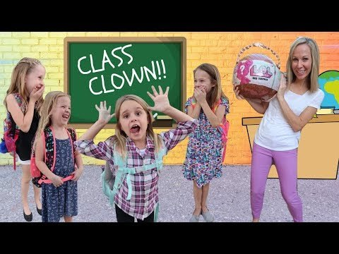 Another NEW Kid Class Clown at Fake Toy School !!!