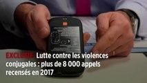 Lutte contre les violences conjugales : plus de 8 000 appels recensés en 2017