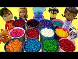 Jelly Bean Candy Surprise Find Hidden Toy LEARN COLORS Paw Patrol MASHEM Trolls Family FUN