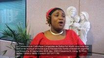 La Communauté Catholique Congolaise de Dallas-Fort Worth vous invite aux festival de musique et danse que la Paroisse Holy Family of Nazareth organise ce Dimanche 30 Septembre 2018. Lieu : 2323 Cheyenne St., Irving, TX 75062 Heure : 15h00 à 18h00. Contact