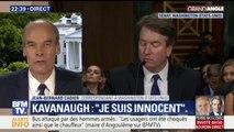 Accusé d'agression sexuelle, le juge Kavanaugh, clame son innocence devant le sénat américain