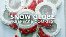 Snow Globe Cookie Keepsake Cookies