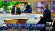 """""""Gaulois réfractaires"""": Emmanuel Macron s'explique"""