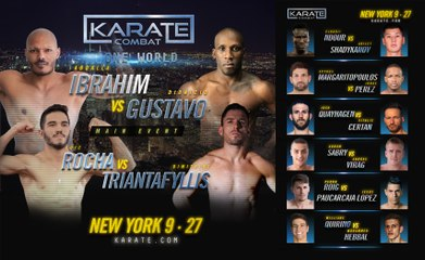 KARATE COMBAT: ONE WORLD Live on Sept. 27th, 2018 - 7:30pm EDT (2)