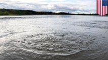 Methane gas found leaking from Alaskan lake