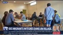 Des migrants intégrés dans un village après des débuts difficiles dus à la crainte des habitants