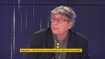 """#Aquarius """"La position française aujourd'hui n'est pas à la hauteur"""" pour Eric Coquerel : """"Au lieu de parler de ces problèmes centraux [comme le climat] on veut nous faire croire que le problème n°1 en France et en Europe c'est les migrants"""""""