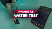 Did the iPhone XS survive our water test?