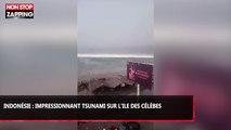 Indonésie : Impressionnant tsunami sur l'île des Célèbes (vidéo)