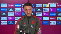 The Bundesliga is back at last!  Niko Kovac's press conference prior to the Bayer Leverkusen game is now live.