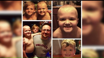 Boy Battling Leukemia Gets Extra Support from Twin Brother