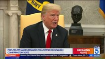 Trump Says Ford's Testimony Against Kavanaugh Was 'Very Compelling'