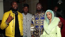 Cardi B Cozy's Up With Nicki Minaj's EX Meek Mill