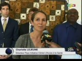 ORTM/L'initiative Clinton d'accès à la santé une fondation de l'ancien Président  des Etats-unies Bill Clinton au coté des autorités sanitaires malienne pour sauver un million de vies