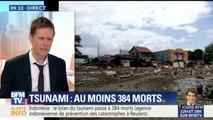 Indonésie: le bilan du séisme s'alourdit à 384 morts