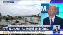 """Indonésie: """"S'il n'y avait pas eu de système d'alerte, le bilan aurait été beaucoup plus lourd"""" estime Badaoui Rouhban, expert en prévention des catastrophes"""