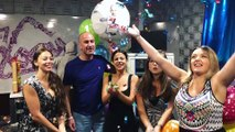 Happy 1st anniversary to our Drivetime host Pierre Cordina at 89.7 Bay.  Thanks to Partygoods Malta for the amazing balloons!