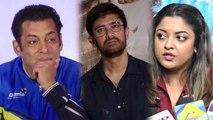 Tanushree Dutta SLAMS Salman Khan & Aamir Khan over Nana Patekar Controversy | FilmiBeat
