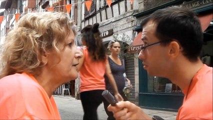 Journée Handilove 2015 Interview  de Martine Bénévole au PLANNING FAMILIAL 64
