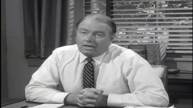 The Andy Griffith Show S03E03 - Andy and the New Mayor