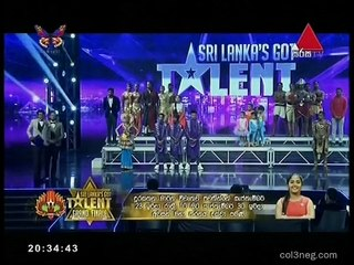 Sri Lankas Got Talent 29/09/2018