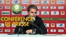 Conférence de presse US Orléans - FC Lorient (2-0) : Didier OLLE-NICOLLE (USO) - Mickaël LANDREAU (FCL) - 2018/2019
