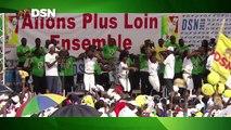 Le Méga Meeting de Brazzaville a marqué la fin de la marche qui a commencé à Pointe-Noire et qui est passée par tous les départements du Congo. Il a pu compter
