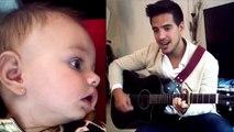 Vadhir Derbez le canta a la hija de Aislinn Derbez, Kailani
