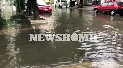 Πλημμύρες στην Καλλιθέα