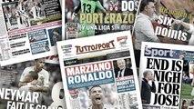CR7 et la Juve impressionnent l'Italie, la presse anglaise annonce la fin pour José Mourinho