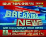 Pak helicopter violates ceasefire along LOC; Pak calls Airspace violation 'accidental'