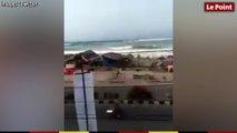 Les images du tsunami en Indonésie