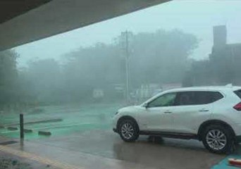 Typhoon Trami Slams Okinawa