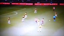 Robin Van Persie Direct Red Card For A Bad Tackle vs Vitesse!