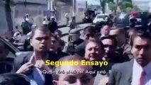 Rafael Correa ensayó su actuación del 30-S